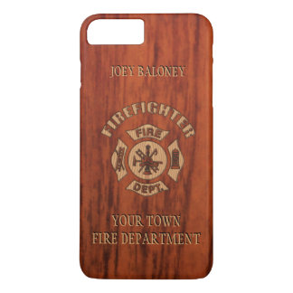 FireFighter Elegant Name Template iPhone 7 Plus Case