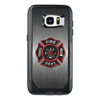 Firefighter Emblem Red OtterBox Samsung Galaxy S7 Edge Case