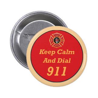 Firefighter Emergency 911 Button