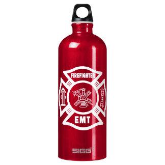 Firefighter EMT Aluminum Water Bottle