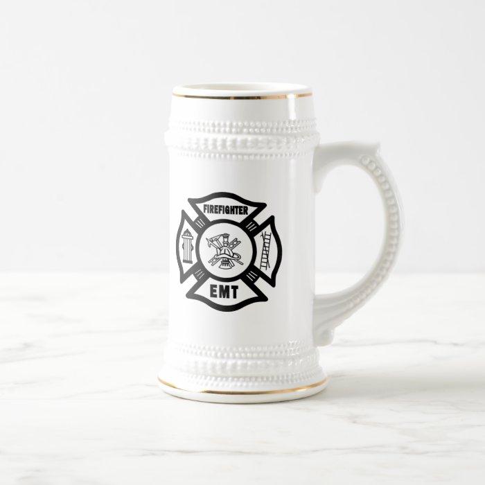 Firefighter EMT Beer Stein