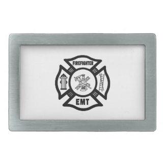 Firefighter EMT Belt Buckle