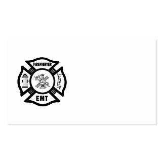 Firefighter EMT Business Card