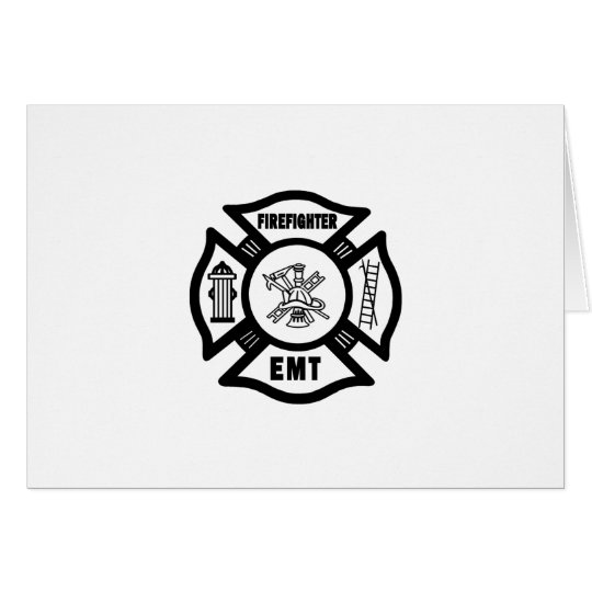 Firefighter EMT Card