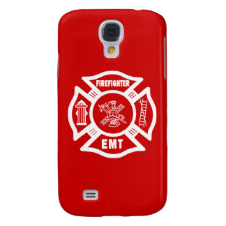 Firefighter EMT Samsung Galaxy S4 Cases