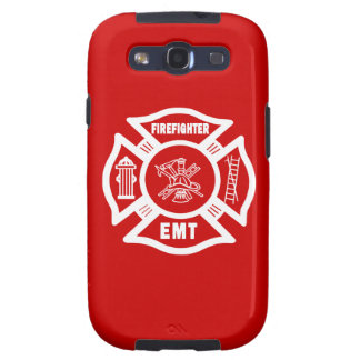 Firefighter EMT Galaxy SIII Cover