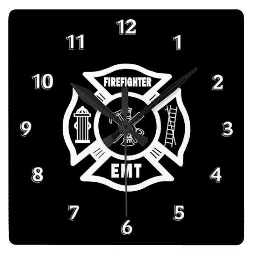 Firefighter EMT Clock