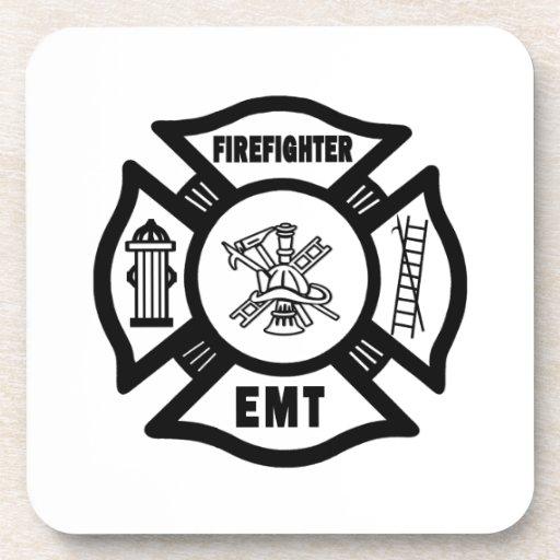 Firefighter EMT Coaster