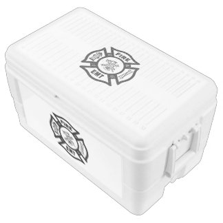 Firefighter EMT Ice Chest