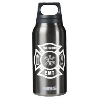 Firefighter EMT Insulated Water Bottle