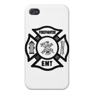 Firefighter EMT iPhone 4 Covers