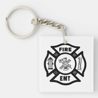 Firefighter EMT Keychain