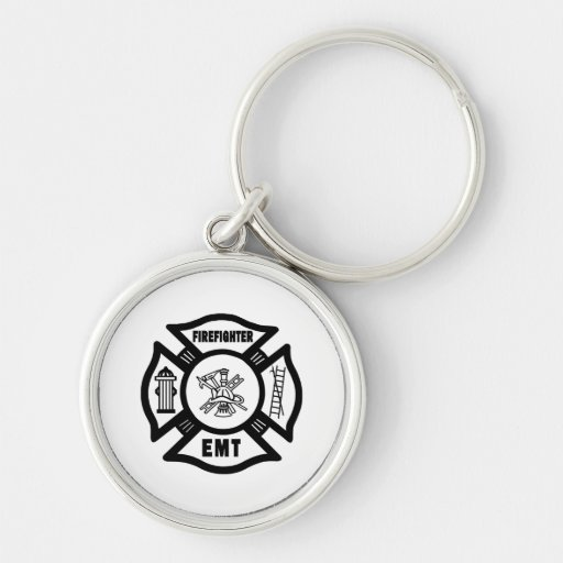 Firefighter EMT Keychain