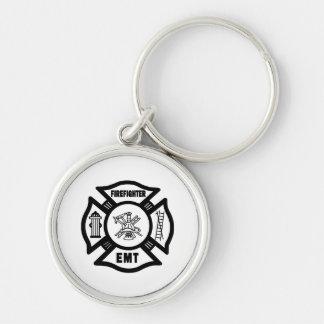 Firefighter EMT Keychains