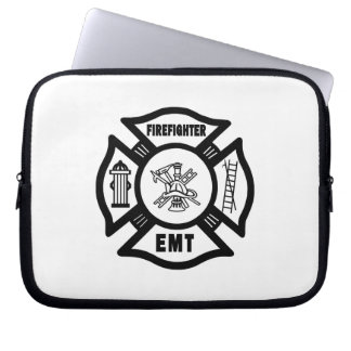 Firefighter EMT Laptop Computer Sleeves