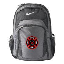 Firefighter EMT Maltese Cross Nike Backpack