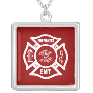 Firefighter EMT Personalized Necklace