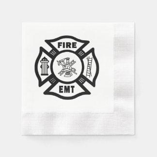 Firefighter EMT Disposable Napkin