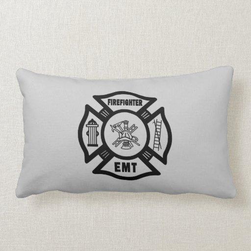 Firefighter EMT Pillow