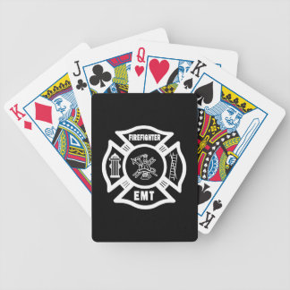Firefighter EMT Playing Cards