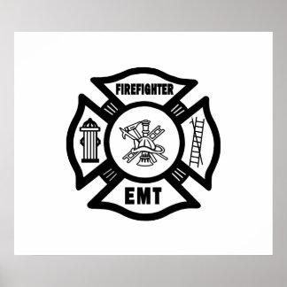 Firefighter EMT Print