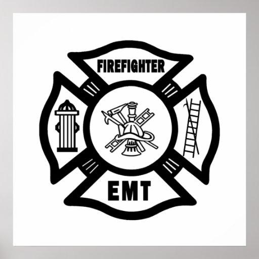 Firefighter EMT Posters