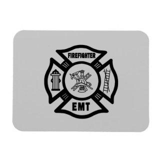 Firefighter EMT Rectangular Magnet
