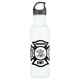 Firefighter EMT Stainless Steel Water Bottle