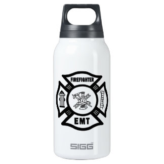 Firefighter EMT Thermos Water Bottle
