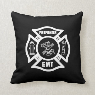 Firefighter EMT Throw Pillows