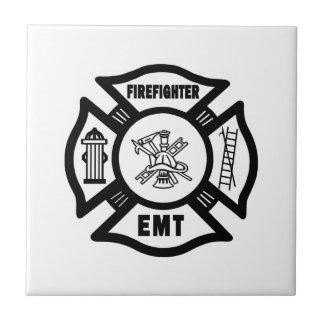 Firefighter EMT Tile