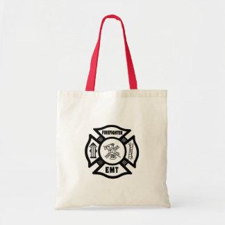 Firefighter EMT Tote Bag