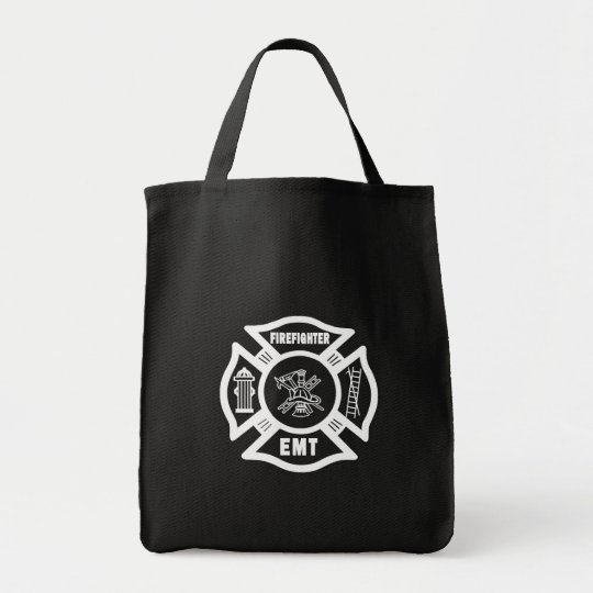 Firefighter EMT Tote Bag