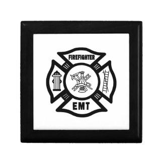 Firefighter EMT Trinket Boxes
