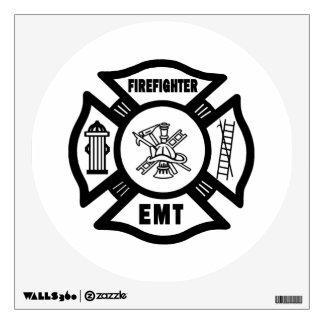 Firefighter EMT Wall Sticker