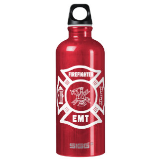 Firefighter EMT Water Bottle