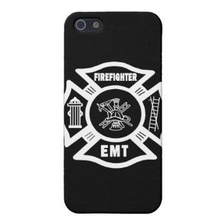 Firefighter EMT White Cover For iPhone 5
