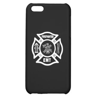 Firefighter EMT White iPhone 5C Cases