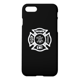 Firefighter EMT White iPhone 7 Case