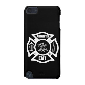 Firefighter EMT White iPod Touch 5G Covers