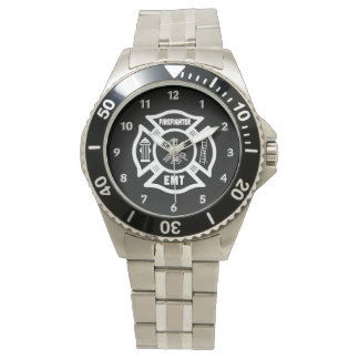 Firefighter EMT Wrist Watch