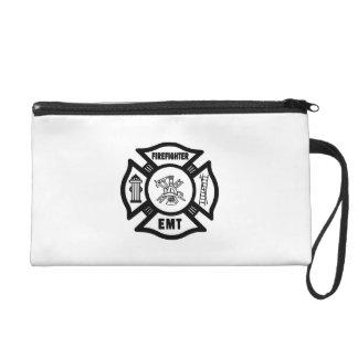 Firefighter EMT Wristlet Purse