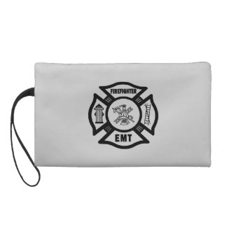Firefighter EMT Wristlet Purse