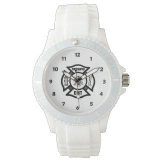Firefighter EMT Wristwatch