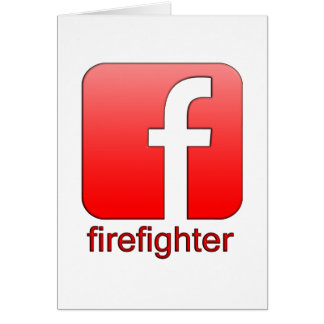 Firefighter Facebook Logo Unique Gift Template