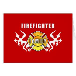 Firefighter Family Card