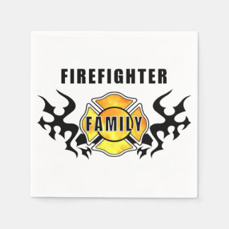 Firefighter Family Napkin