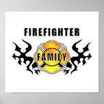 Firefighter Family Print