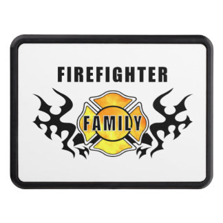 Firefighter Family Tow Hitch Cover