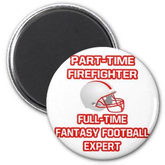 Firefighter .. Fantasy Football Expert Magnet